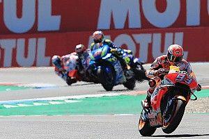 MotoGP Belanda: Marquez menangi balapan ketat