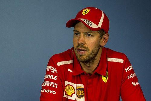 Pembalap F1 seperti dilarang membalap karena penalti - Vettel