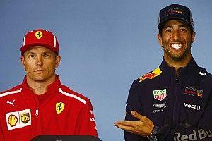 A Ricciardo le sorprendió que Raikkonen no se retire