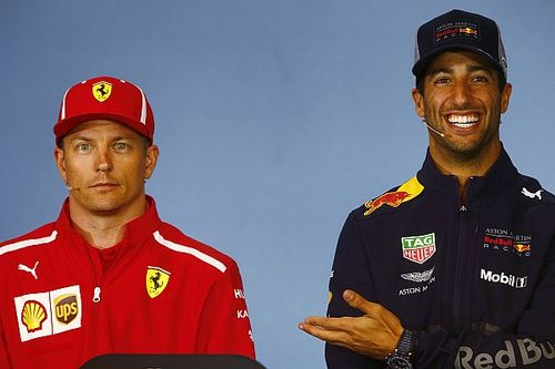 Ricciardo, Raikkonen'in emekli olmamasına şaşırmış