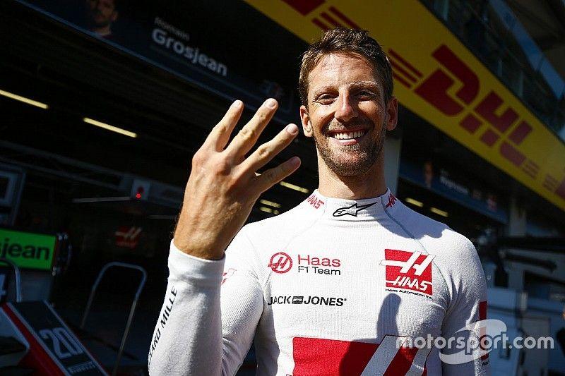 "Grosjean relieved to stop ""negative spiral"""