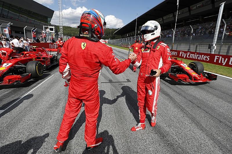Vettel: nem került szóba a csapatutasítás a Ferrarinál