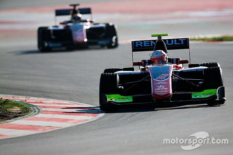 ART lidera en las pruebas de GP3, con Calderón 7°