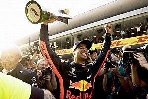 """GALERIA: Relembre as vitórias """"divertidas"""" de Ricciardo"""