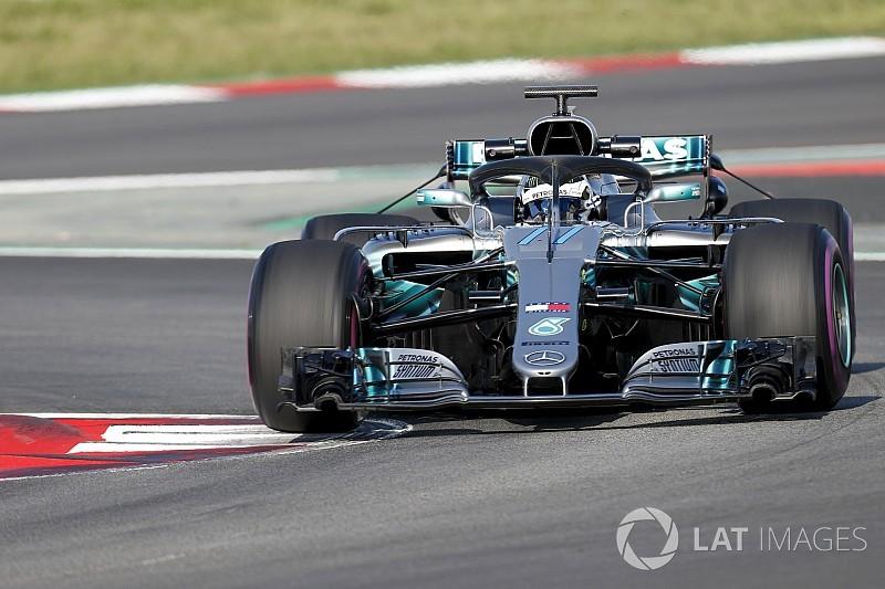 Barcelona F1-test: Bottas snelste op tweede ochtend