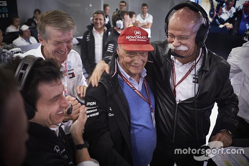 A kórház is megerősítette, hogy nagyon kielégítő Lauda állapota