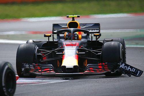 Incluso a Verstappen le sorprendió lograr el podio con el alerón dañado