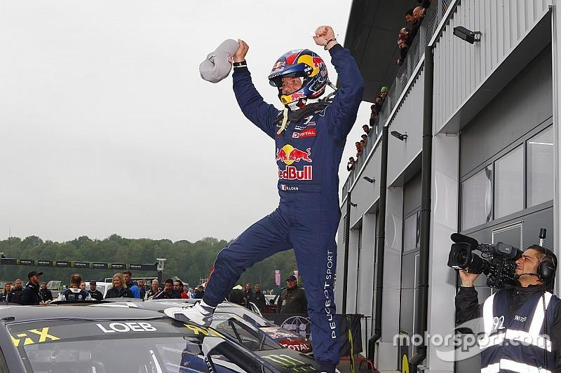 Second succès de Loeb en WRX avec Peugeot