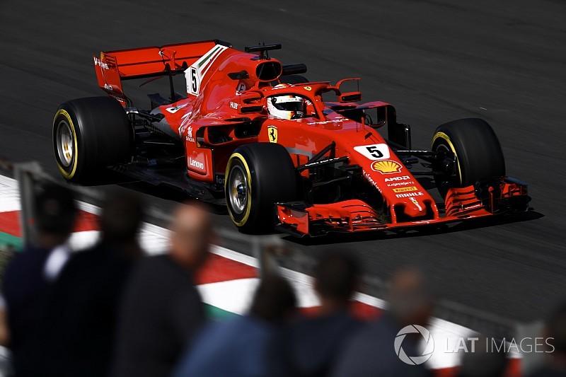 Test Barcellona, Giorno 1, Ore 16: Vettel porta in vetta la Ferrari