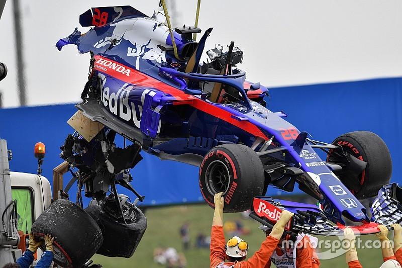 A Toro Rosso több mint 2 millió eurót vesztett a 2018-as baleseteivel