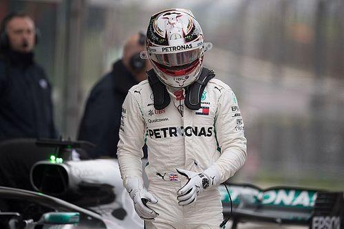 """Hamilton: """"Heureusement qu'il y a eu des incidents aujourd'hui"""""""
