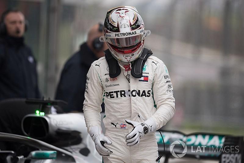 """Hamilton reconoce que su rendimiento en China fue """"un desastre"""""""