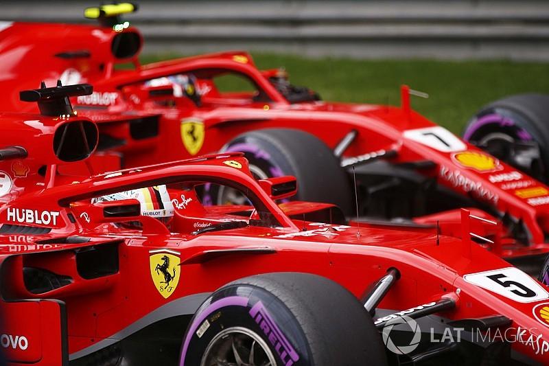 Ferrari already backing Vettel over Raikkonen - Symonds