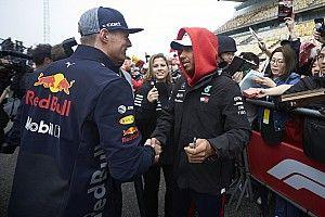 Hamilton hizo las paces con Verstappen en China