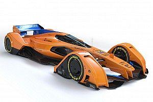 GALERI: Konsep mobil F1 futuristik, McLaren X2