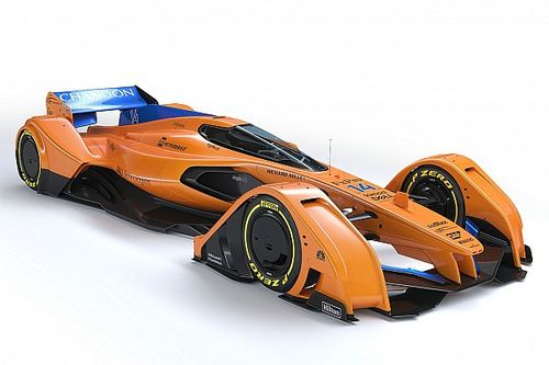 Gallery: McLaren updates F1 future concept, the X2