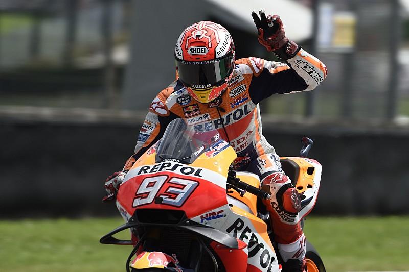 "Marquez: ""Rossi rajtelsősége hihetetlen volt…"""