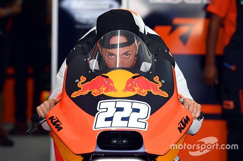 """Cairoli si gode il test sulla KTM MotoGP: """"Che adrenalina a 300 km/h!"""""""
