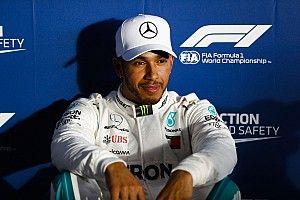 """Hamilton senang bisa """"hapus senyum"""" Vettel usai kualifikasi"""