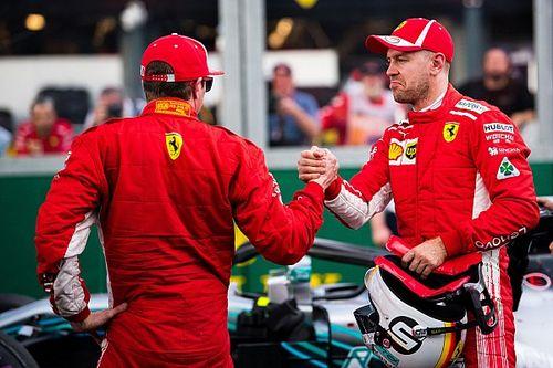 Raikkonen: Ferrari bana Vettel'in taktiğini söylemedi