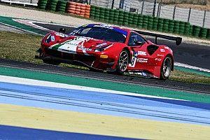 GT Italiano, Misano, Libere 1: Ferrari al top con Fuoco-Hudspeth