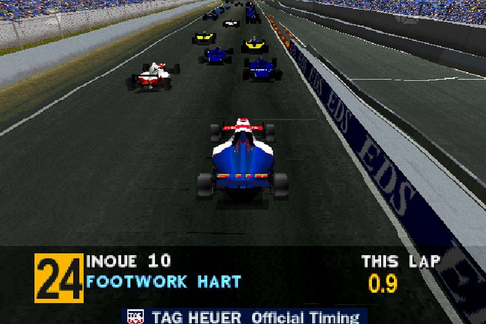 How two 25-year-old masterpieces shaped F1 gaming forever