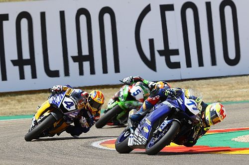 Aragon Supersport: İkinci yarışta zafer Odendaal'ın oldu, Cluzel son sıradan podyuma çıktı