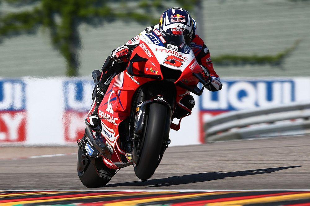 MotoGP: Zarco quebra hegemonia de Quartararo e fatura pole do GP da Alemanha apesar de queda