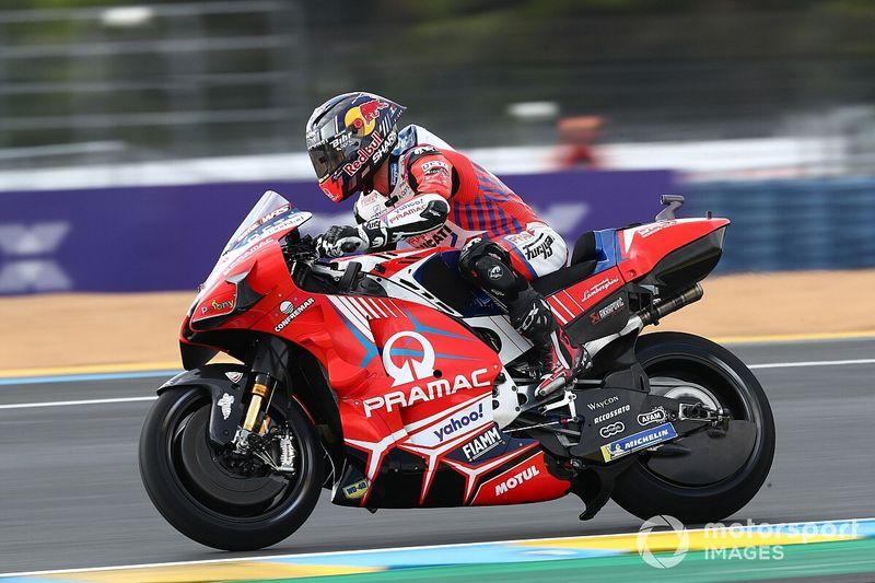 MotoGP: Zarco 'rouba' liderança de Quartararo e lidera dobradinha francesa em Le Mans