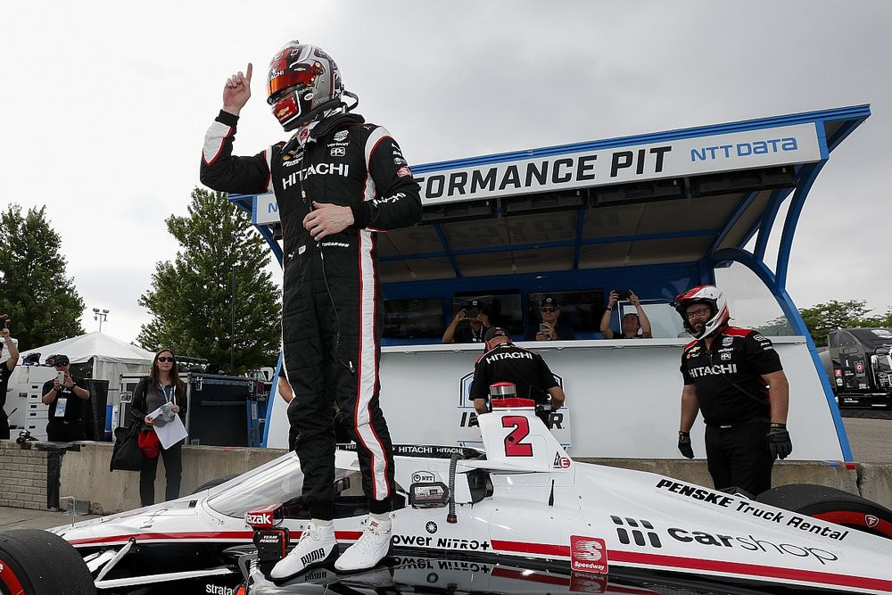 Newgarden z pole position