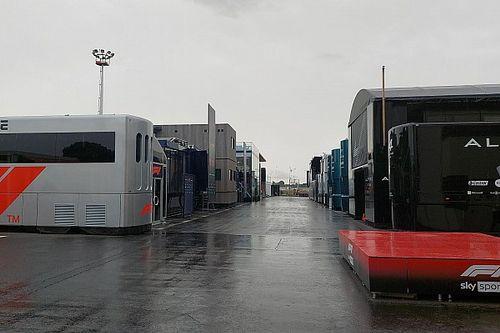 Weerbericht F1 Grand Prix van Frankrijk: Het regent op Paul Ricard