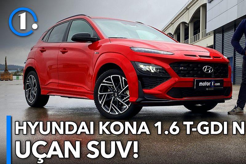 2021 Hyundai Kona 1.6 T-GDI N Line   Neleri Farklı?