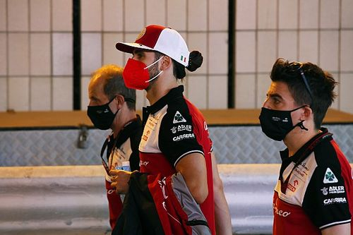 Alfa Romeo: Giovinazzi már nem Räikkönenre koncentrál