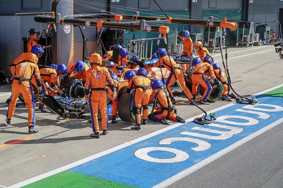 Norris says slow pitstop cost him podium shot in British GP