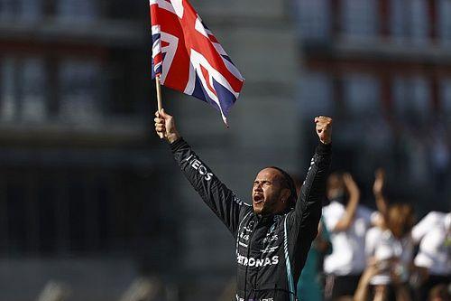 British GP: Hamilton wins despite penalty for Verstappen clash