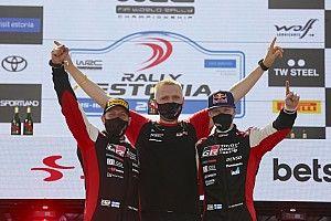 Harri Rovanpera Terkejut Putranya Bisa Menangi WRC Reli Estonia
