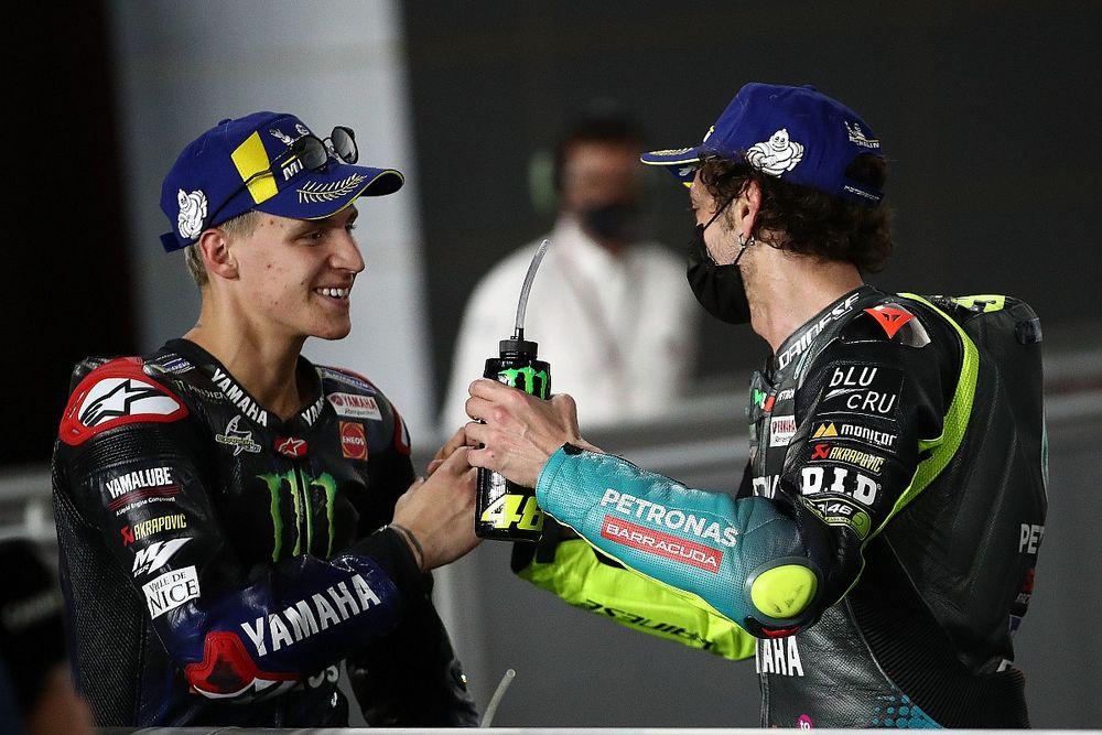 """MotoGP: Quartararo diz que substituir Rossi na Yamaha foi uma """"responsabilidade gigante"""""""