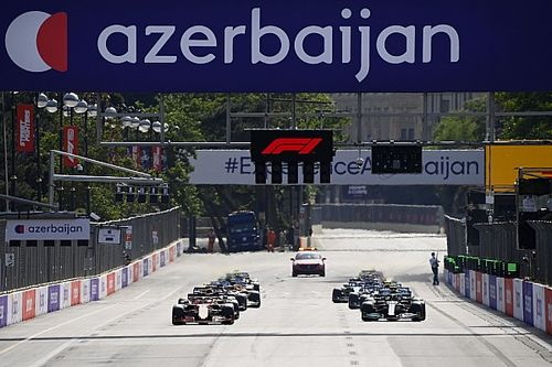 【F1動画】第6戦アゼルバイジャンGP決勝ハイライト