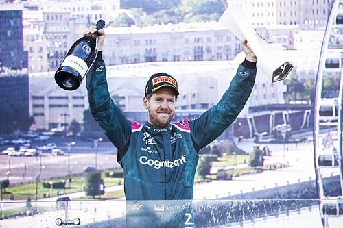 """Vettel hopes Aston Martin can carry F1 momentum after """"rough start"""""""