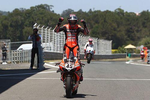 Victoria de Redding en la primera carrera de Estoril; Bautista y Rabat, top 10