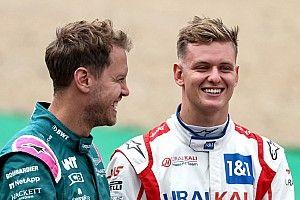 Schumacher, Silverstone yarışında Vettel'in sürüşünden dersler çıkarmaya çalışmış