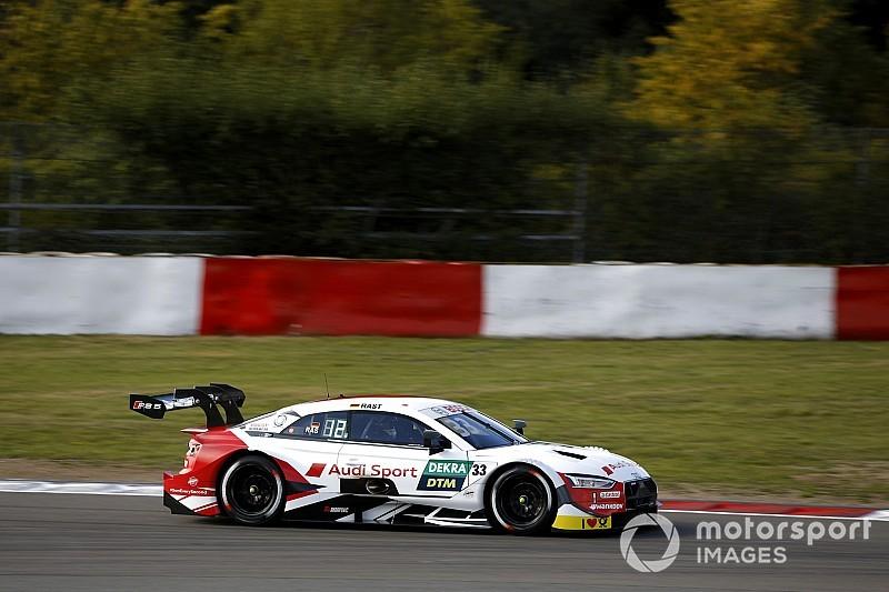 DTM Nürburgring: pole, bonuspunten en 50 euro boete voor Rast