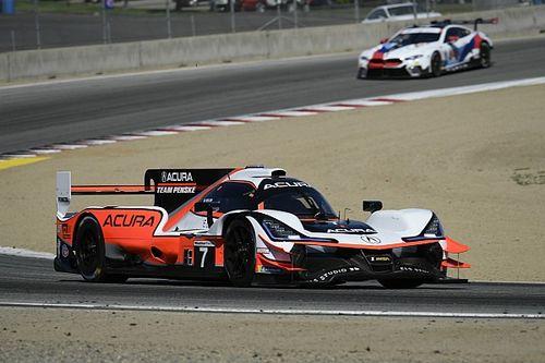 Montoya segundo en la tercera práctica en Laguna Seca