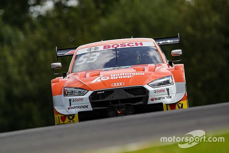 Lausitzring, Libere 2: Audi regine con Green e Duval
