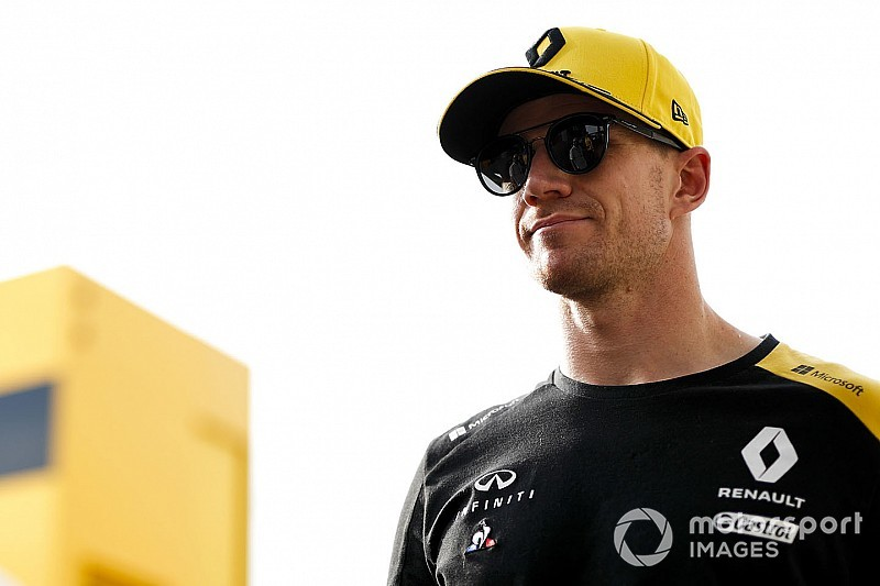 "Hulkenberg teases ""exciting Thursday"" amid Ocon rumours"