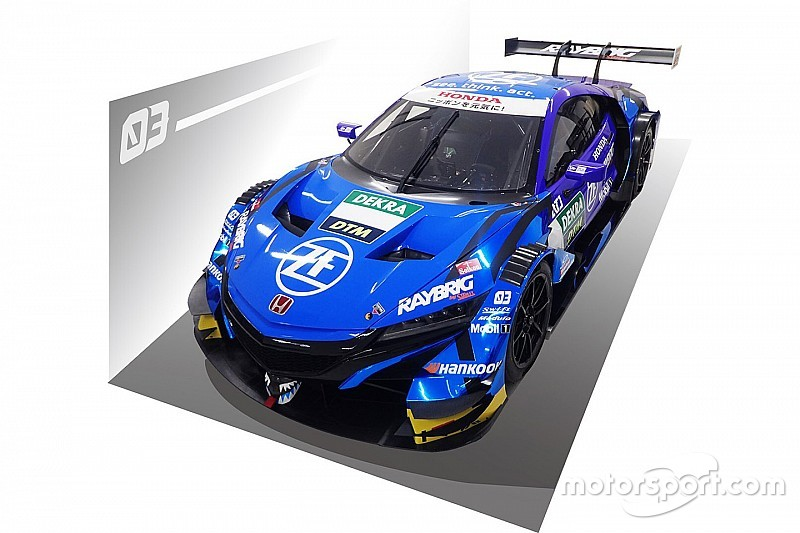 Super GT teams reveal liveries for DTM wildcards