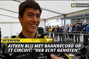 """Aitken blij met baanrecord in Assen: """"Heb genoten van de ronde"""""""