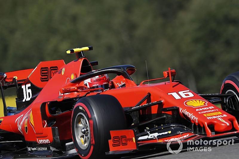 F1 Spa: Leclerc strepitoso in pole, prima fila Ferrari!