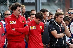 Ferrari не простила Леклеру прыжок с парашютом