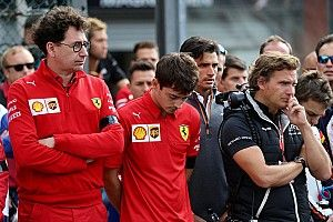 "Leclerc: Spa return will be ""difficult"" after Hubert death"